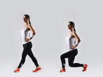 Beautiful fitness woman Royalty Free Stock Images