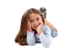 Beautiful five-year girl Royalty Free Stock Image