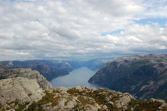 Beautiful Fjord Royalty Free Stock Image