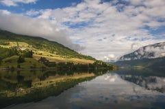 Beautiful Fjord Scenery in Norway Stock Image