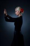 Beautiful flamenco dancer Stock Images