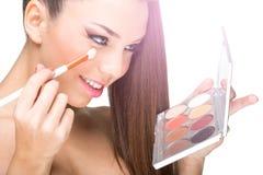 Beautiful, flawless skin model Royalty Free Stock Photography