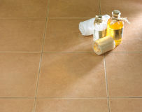 Beautiful floor tile isolated  Stock Photos