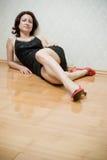 beautiful floor woman Στοκ Εικόνα
