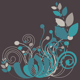 Beautiful floral abstract background Stock Photography