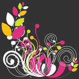 Beautiful floral abstract background Royalty Free Stock Photo