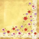 Beautiful floral abstract background Royalty Free Stock Photography