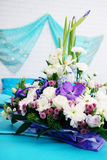 Beautiful floral arrangement Royalty Free Stock Photography