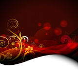 Beautiful floral artwork background Royalty Free Stock Image