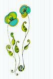 Beautiful floral background Royalty Free Stock Photo