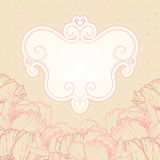 Beautiful floral background Stock Images
