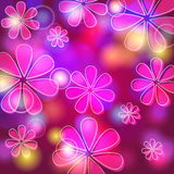Beautiful floral background Royalty Free Stock Photos