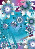 Beautiful Floral Background. An artistic background of beautiful floral design Royalty Free Stock Photo
