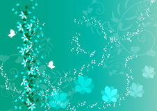 Beautiful floral background Royalty Free Stock Images