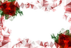 Beautiful floral background of Christmas. With space for your text Royalty Free Stock Images