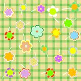 Beautiful Floral background. Flower Border design Stock Photography