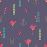 Beautiful floral background. Seamless pattern Stock Photography