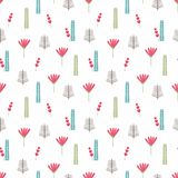 Beautiful floral background. Seamless pattern Royalty Free Stock Image
