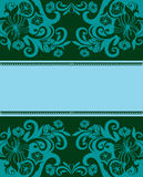 Beautiful floral banner Royalty Free Stock Image