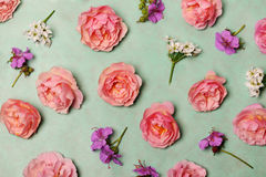 Beautiful floral composition Stock Photo
