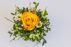 Beautiful floral decorations. For the anniversary jubilee Royalty Free Stock Image
