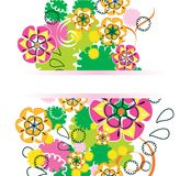 Beautiful floral design. Beautiful floral ornament for your design Stock Photo
