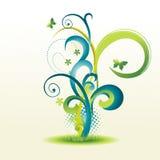 Beautiful floral design Stock Photo