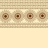 Beautiful floral elements decorated background. Beautiful floral elements decorated abstract background Stock Illustration
