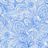 Beautiful floral leaf seamless pattern Stock Image