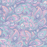 Beautiful floral leaf seamless pattern Royalty Free Stock Images