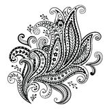 Beautiful floral ornament Royalty Free Stock Images