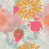 Beautiful floral pattern Stock Photography