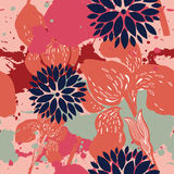Beautiful floral pattern Royalty Free Stock Photography