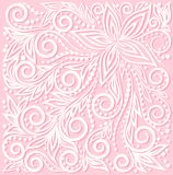 Beautiful floral pattern, a design element in the  Royalty Free Stock Photography