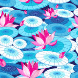 Beautiful floral pattern royalty free illustration