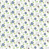 Beautiful floral pattern for print and web Stock Photo