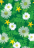 Beautiful floral pattern seamless tile Stock Photography