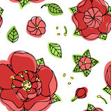 Beautiful floral pattern Royalty Free Stock Image