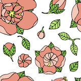 Beautiful floral pattern Royalty Free Stock Photo
