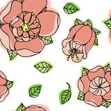 Beautiful floral pattern Royalty Free Stock Images