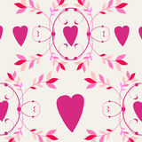 Beautiful floral romantic background Royalty Free Stock Images
