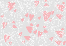 Beautiful floral romantic background Royalty Free Stock Photos