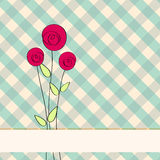 Beautiful floral romantic background Royalty Free Stock Photo