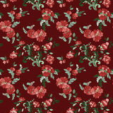 Beautiful floral seamless pattern Royalty Free Stock Photos