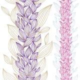 Beautiful floral seamless pattern. Stock Image