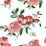 Beautiful floral seamless pattern Stock Photography