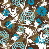 Beautiful floral seampless pattern Stock Images