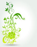 Beautiful floral spring background Royalty Free Stock Photos