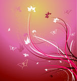 A beautiful floral vector illustration Royalty Free Stock Photography