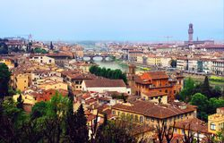 Beautiful Florence. Royalty Free Stock Images